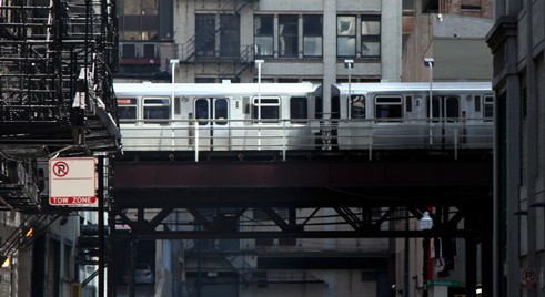 Bat Bus 12 >> Metro de Chicago - Le Métro aérien de Chicago