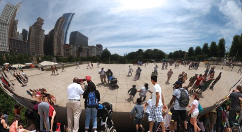 The Bean (The Cloud Gate), Chicago