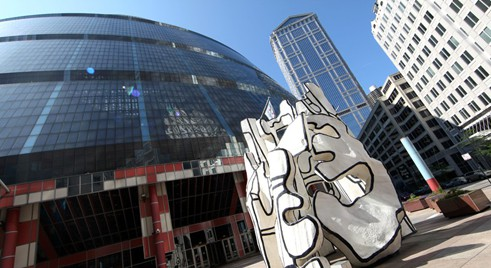 DuBuffet à Chicago : Monument with Standing Beast