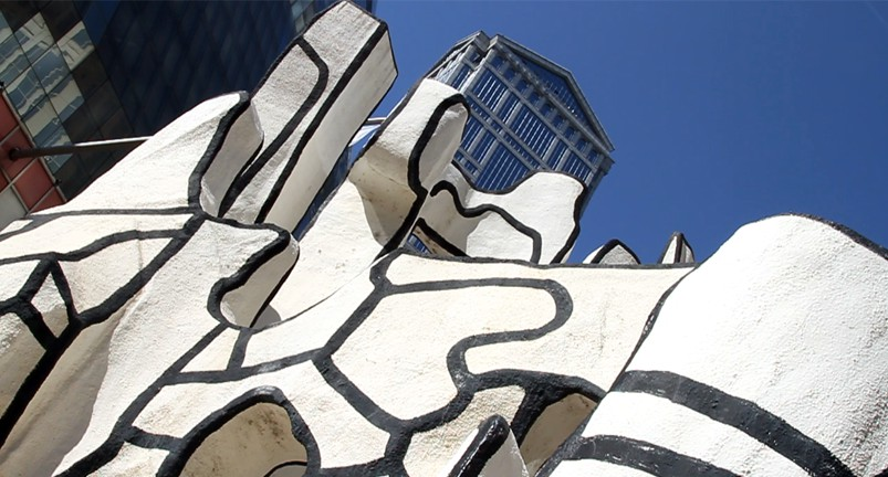 Sculpture Dubuffet à Chicago