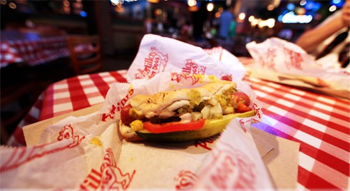 Portillo's Hot Dog à Chicago