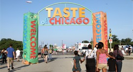 Festival culinaire Taste of Chicago