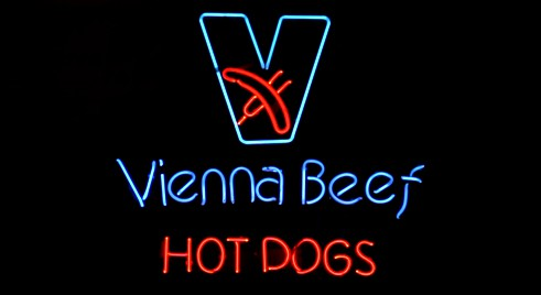 Vienna Beef Hot Dogs à Chicago